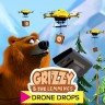 Grizzy and the Lemmings Drone Drops